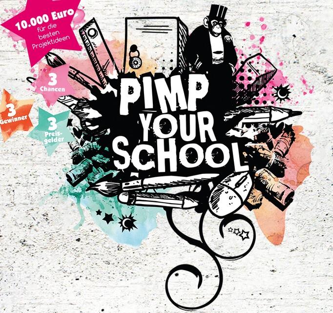 Der kreative Schulwettbewerb - PIMP YOUR SCHOOL - 2017