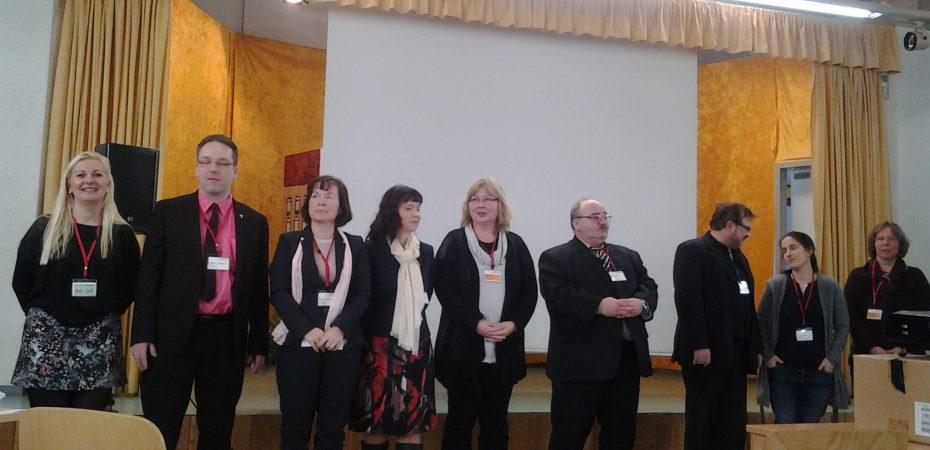 Der alte Vorstand des LER bis 2016