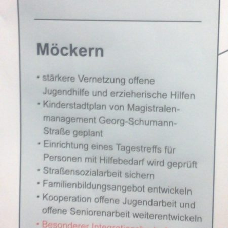 Leipzig Bereich Nordost: Bildung, Soziales Kultur