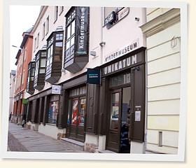 Kindermuseum Unikatum in der Zschocherschen Straße 26, in Leipzig Plagwitz