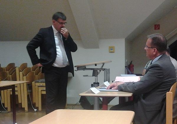 Bildungsagenturleiter Ralf Berger zu Gast auf der Wahl der Elternvertreter des Landkreises Nordsachen