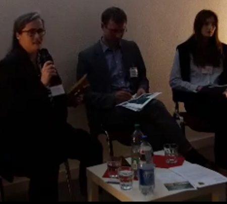 Die Teilnehmer von links nach rechts: Carsten Müller, Petra Elias, Holger Mann, Francesca Stiehler und Sabine Friedel