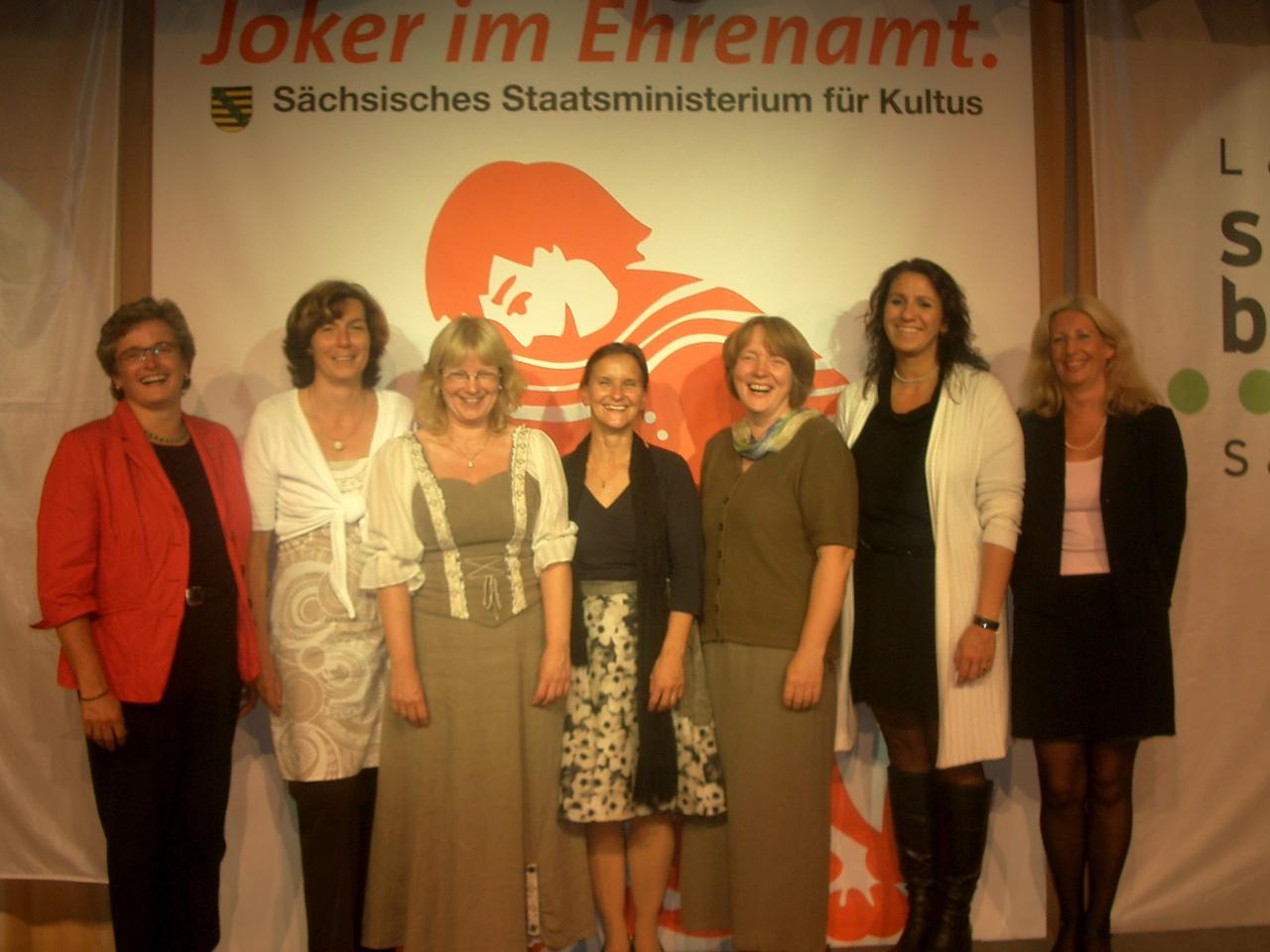 27.08.2010 Auszeichnung für Sylvia Füssl - Joker im Ehrenamt
