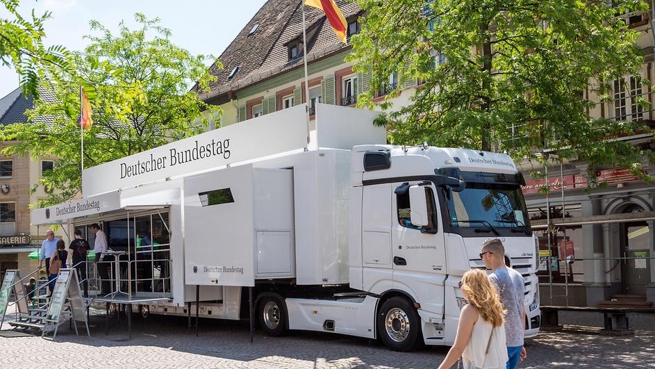 Infomobil Bundestag 1