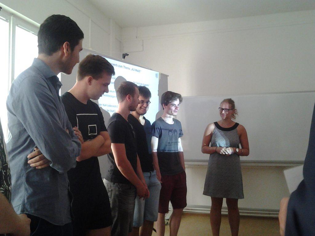 Die Schüler des Brockhausgymnasiums überzeugten mit den Wechseln der Kamera-Erzählperspektive von Frontal zu Gamer