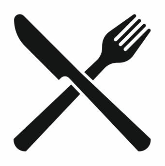Messer und Gabel Schulspeisung