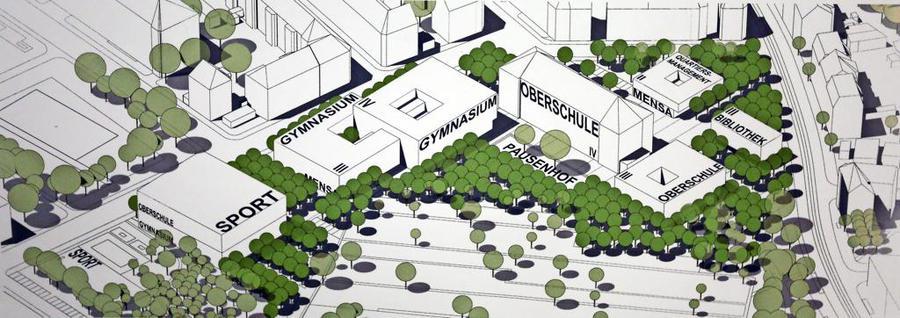 So soll der Campus Ihmelsstraße sich entwickeln. 2016 wurde der Siegerentwurf des Städtebaulichen Wettbewerbs gekürt. Er stammt von RBZ Dresden und Storch Landschaftsarchitektur Dresden. Quelle: André Kempner und LVZ