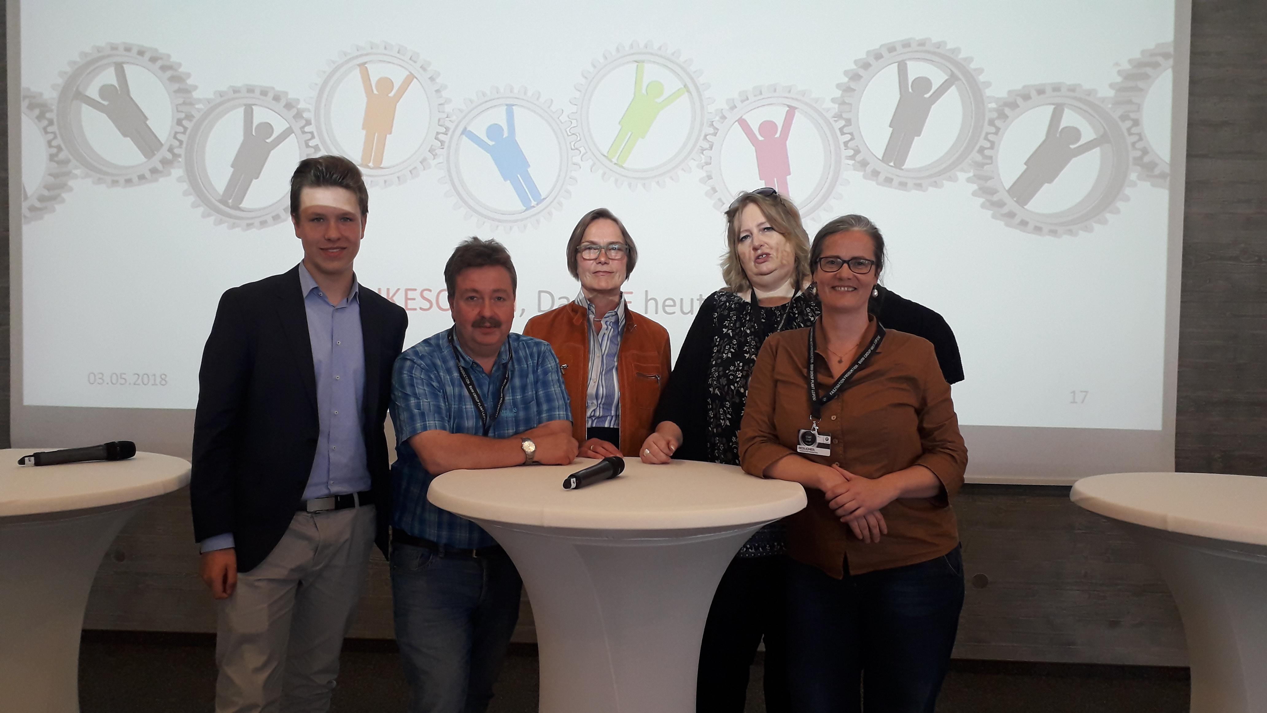 Annette Baumeister, PEtra Schmidt, Frank Anstatt, Kilian Crämer, Petra Elias