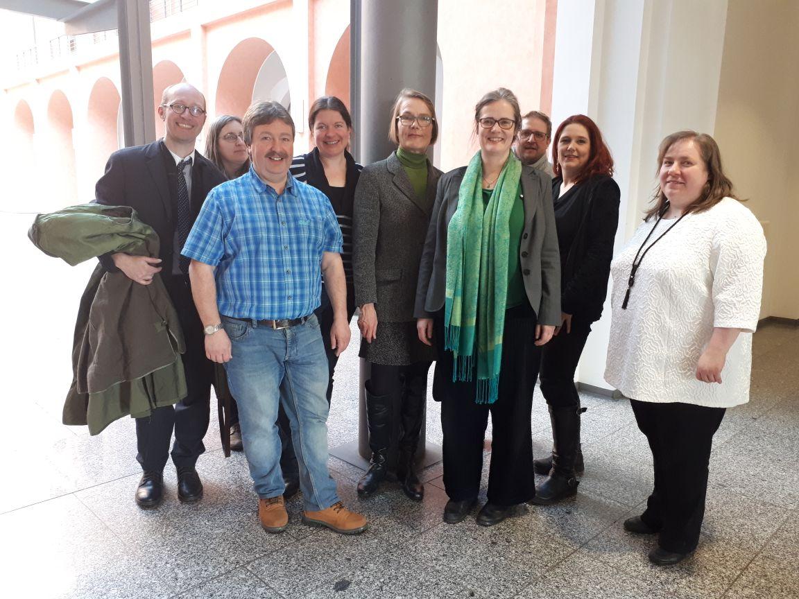 Besuch in Dresden bei Staatsminister Piwarz des StadtElternRates