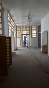 Oberschule Ratzelstraße Klassenraum ehemalige 55. Schule