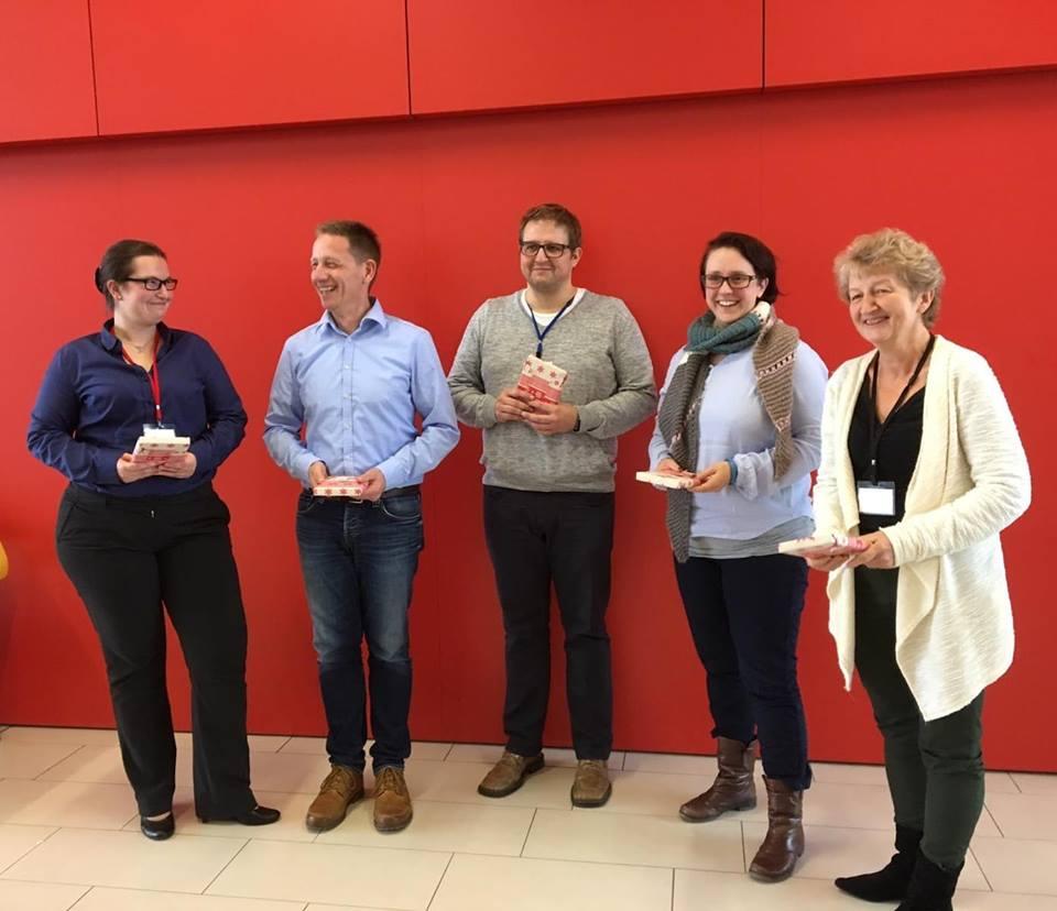 v.l.n.r. Nadine Eichorn, Jörg Menke, Michael Gehrhardt, Ramona Lieschke, Ines Weber